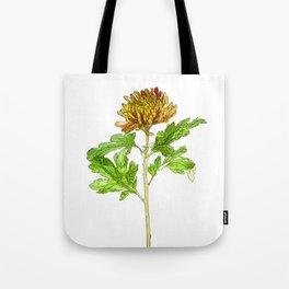 Chrysanthemum Cartoon Tote Bag