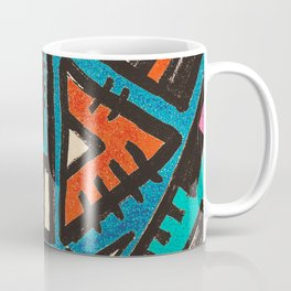 Pattern Number 7 Coffee Mug