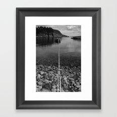 The Long Mooring Framed Art Print