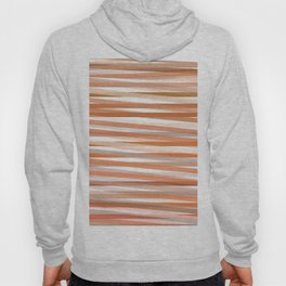 Fall Orange brown Neutral stripes Minimalist Hoody