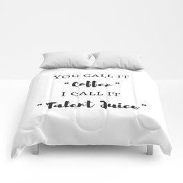 Coffee Talent Comforters