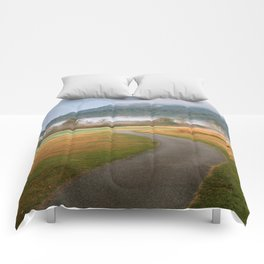 Misty Dawn Golf Course Comforters