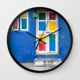 Colorful Indian Door Wall Clock
