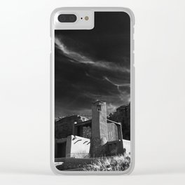 Monastery at Christ in the Desert Clear iPhone Case