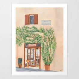 Piazza di S. Apollonia  Art Print