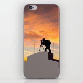 Perfect Shot iPhone Skin