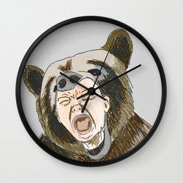 Tantrum Wall Clock