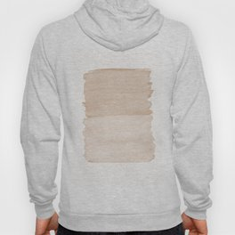 Warm Beige Abstract Minimalism #1 #minimal #ink #decor #art #society6 Hoody