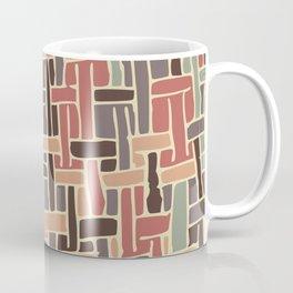 Vintage weave pattern Coffee Mug
