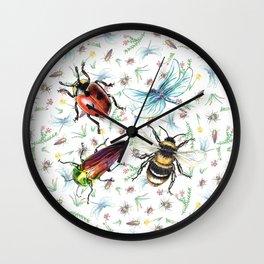 Insectopia Wall Clock