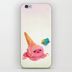 Bad ice cream must be punished  iPhone & iPod Skin