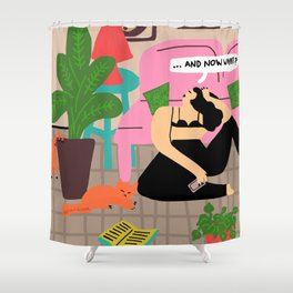 now what Shower Curtain