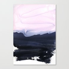pink & blue Canvas Print
