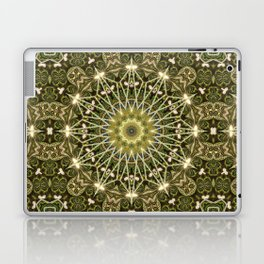 Geometric Forest Mandala Laptop & iPad Skin