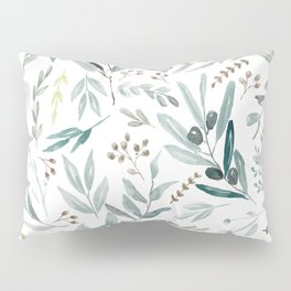 Eucalyptus pattern Pillow Sham