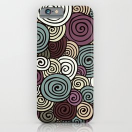 African lavender field  iPhone Case
