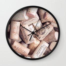 More Corks Wall Clock