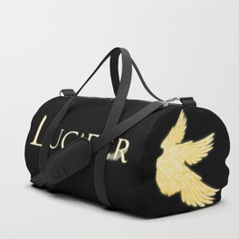 Archangel Lucifer with Feather Light Duffle Bag