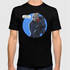 Garrus Mens Fitted Tee Black SMALL