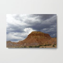 Buttes of New Mexico - On the Road to Santa Fe, No. 3 Metal Print