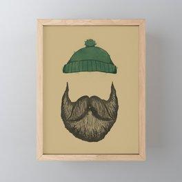 The Logger Framed Mini Art Print