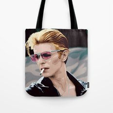 Thin White Duke Tote Bag