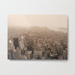 Sky Smog  Metal Print