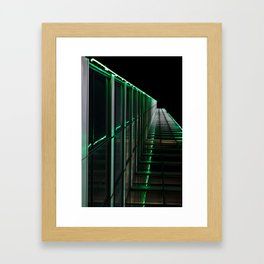 Big D Framed Art Print