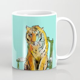 animals in chairs # 21 The Tigers Coffee Mug