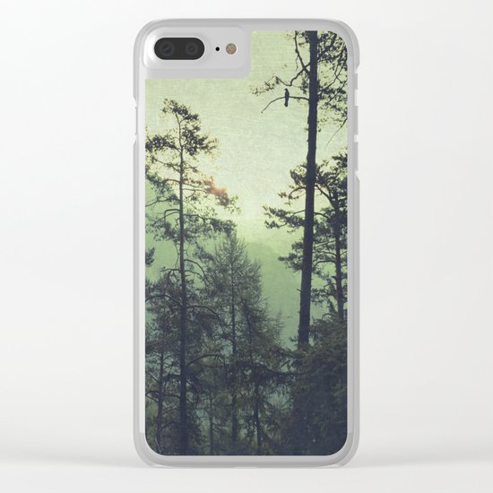 the wind was the only sound Clear iPhone Case
