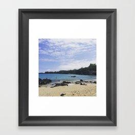 Waialea Beach (Beach 69) Framed Art Print