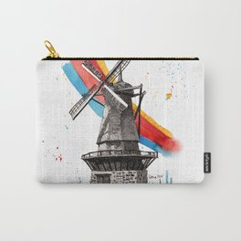 The Windmill and the Rainbow Carry-All Pouch