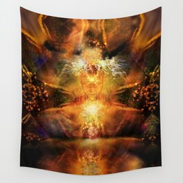 Visionary Insight Wall Tapestry