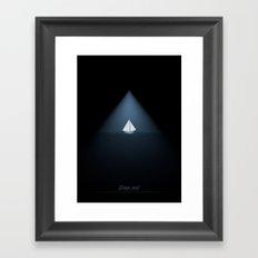 Deep end Framed Art Print