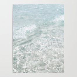 Translucent Waves Poster