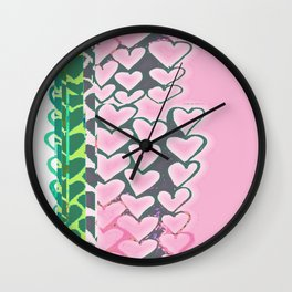 Heart 16 Wall Clock