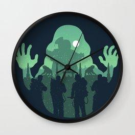 Ghost hunters Wall Clock