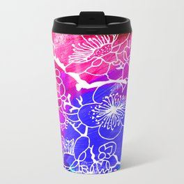 Flowers I Metal Travel Mug