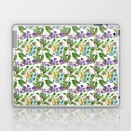 Floral naïf pattern Laptop & iPad Skin