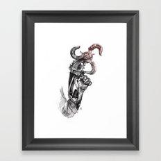 Sky-Hook Framed Art Print