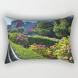 Lombard Street views  Rectangular Pillow