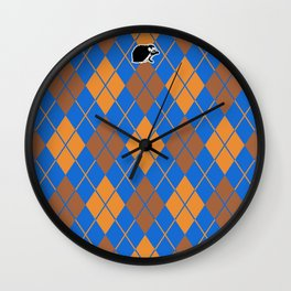 Shinbone's Blue Dress 3 Wall Clock
