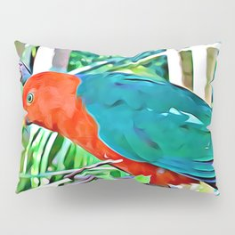 King Parrot Pillow Sham