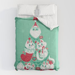 A Very Purry Christmas Comforters