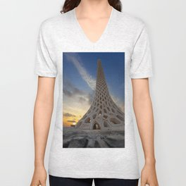 Kaust Beacon Unisex V-Neck
