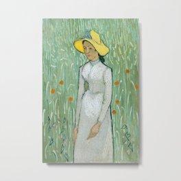 Vincent van Gogh - Portrait Metal Print