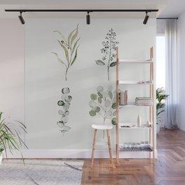 Eucalyptus Branches Wall Mural