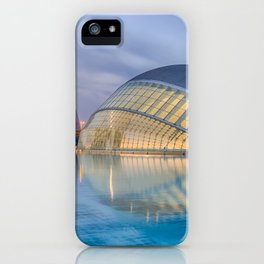 City of Arts and Sciences VIII by CALATRAVA architect iPhone Case
