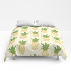 Pineapple Gold Comforters