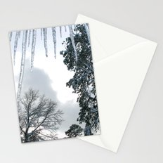 Icicle Dreams Stationery Cards